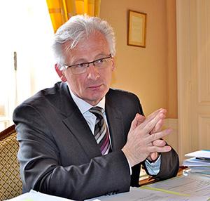 Marc Robert, maire de Rambouillet