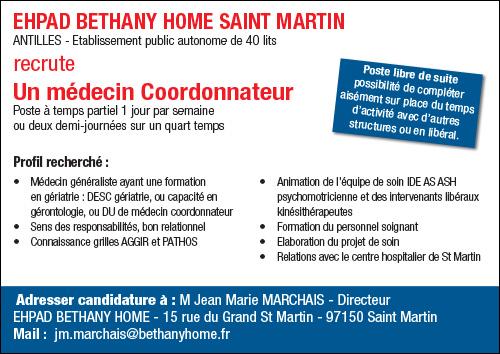 Ehpad Bethany Home Saint Martin