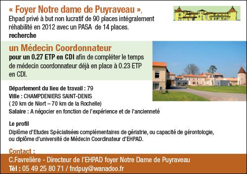 Foyer Notre Dame de Puyraveau